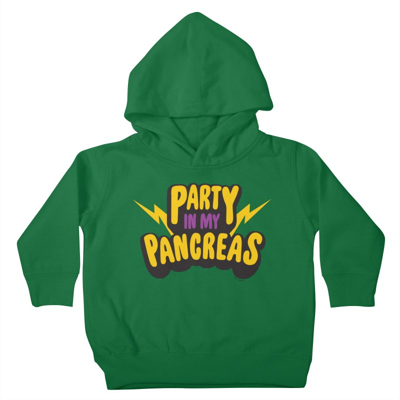 Party in My Pancreas Kids Toddler Pullover Hoody by I Heart Guts