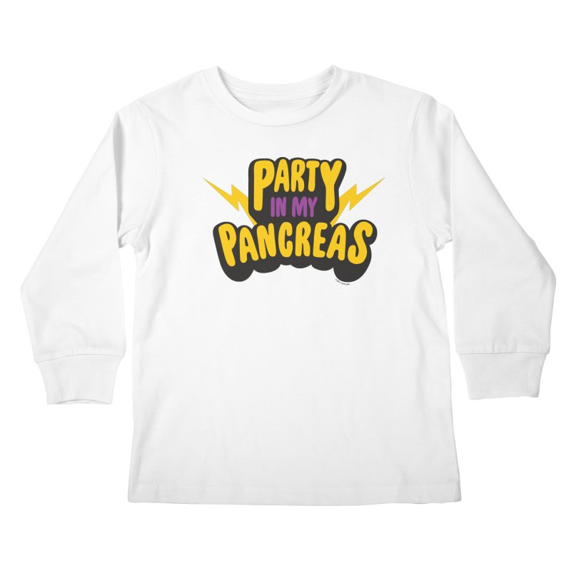 Party in My Pancreas Kids Longsleeve T-Shirt by I Heart Guts