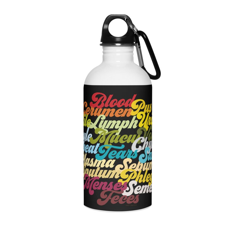 Precious Bodily Fluids Accessories Water Bottle by I Heart Guts