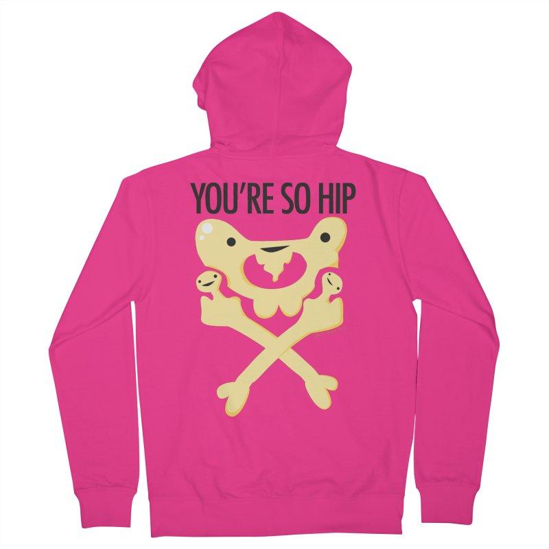 Pelvis - You're So Hip Men's Zip-Up Hoody by I Heart Guts