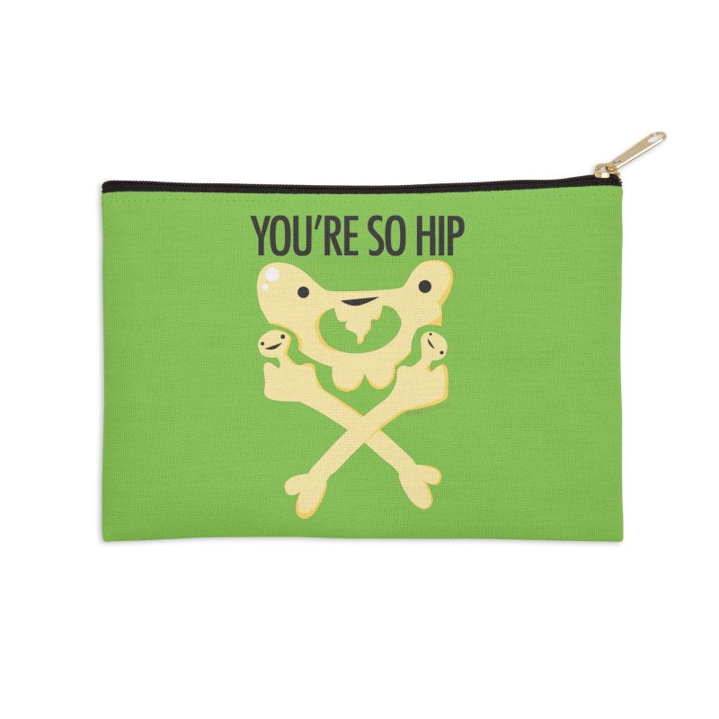 Pelvis - You're So Hip Accessories Zip Pouch by I Heart Guts