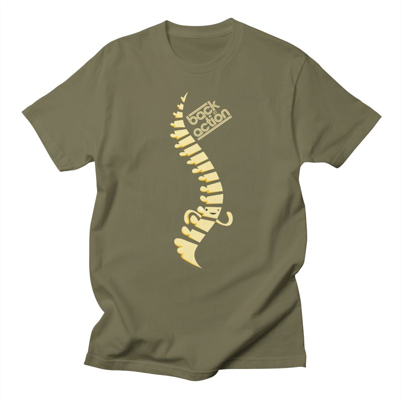 Spine - Back in Action Women's Unisex T-Shirt by I Heart Guts