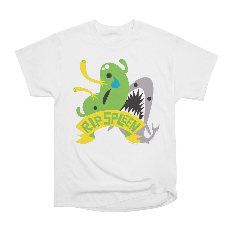 Spleen - Rest in Peace - Splenectomy Women's Heavyweight Unisex T-Shirt by I Heart Guts