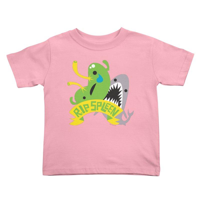 Spleen - Rest in Peace - Splenectomy Kids Toddler T-Shirt by I Heart Guts