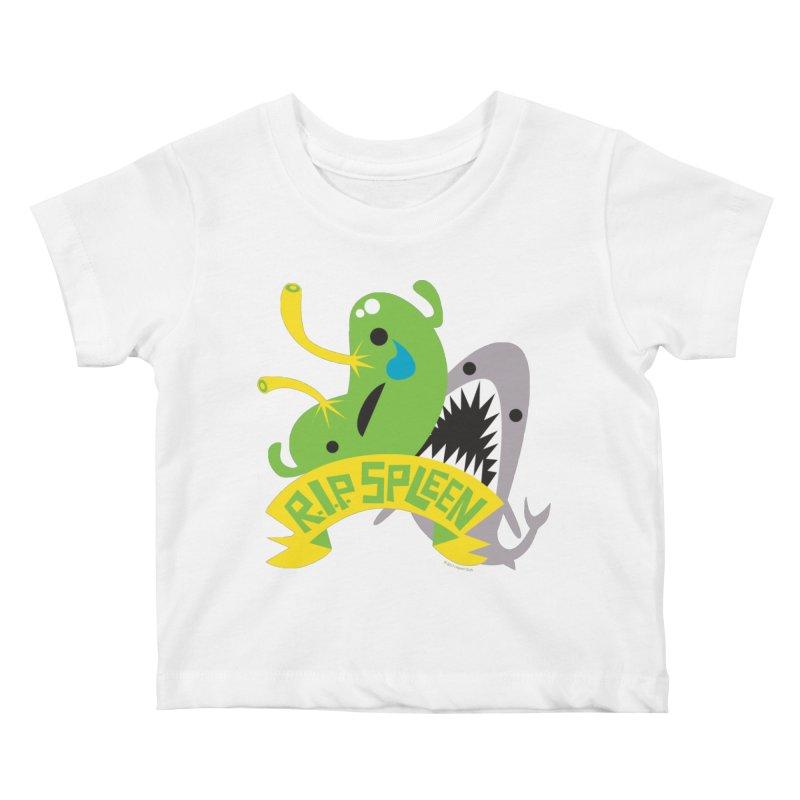 Spleen - Rest in Peace - Splenectomy Kids Baby T-Shirt by I Heart Guts