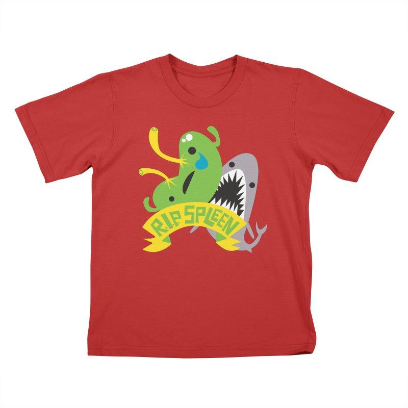 Spleen - Rest in Peace - Splenectomy Kids T-Shirt by I Heart Guts