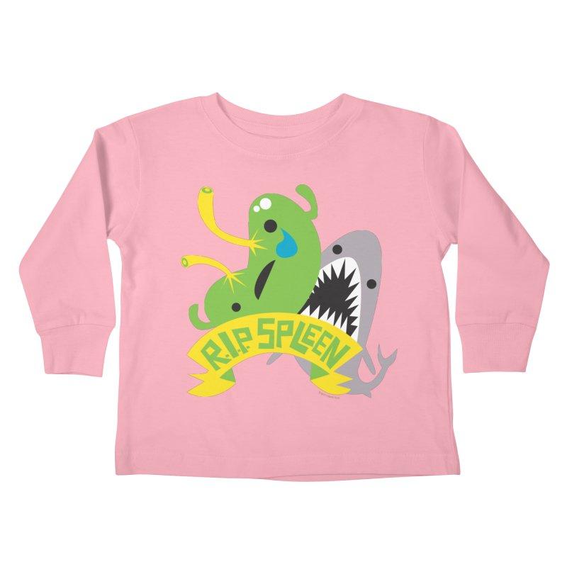 Spleen - Rest in Peace - Splenectomy Kids Toddler Longsleeve T-Shirt by I Heart Guts
