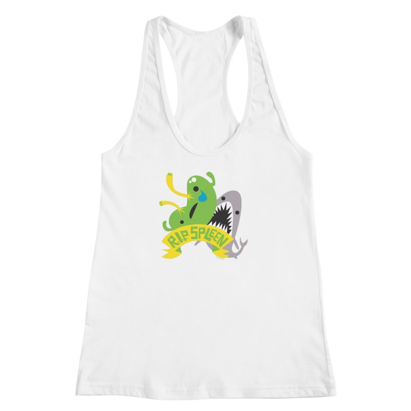Spleen - Rest in Peace - Splenectomy Women's Racerback Tank by I Heart Guts