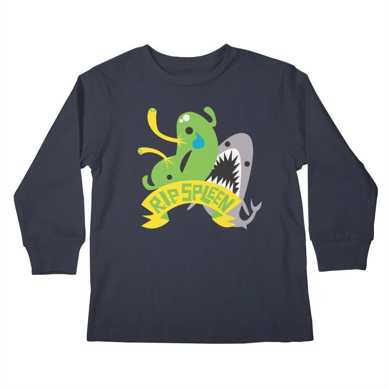 Spleen - Rest in Peace - Splenectomy Kids Longsleeve T-Shirt by I Heart Guts