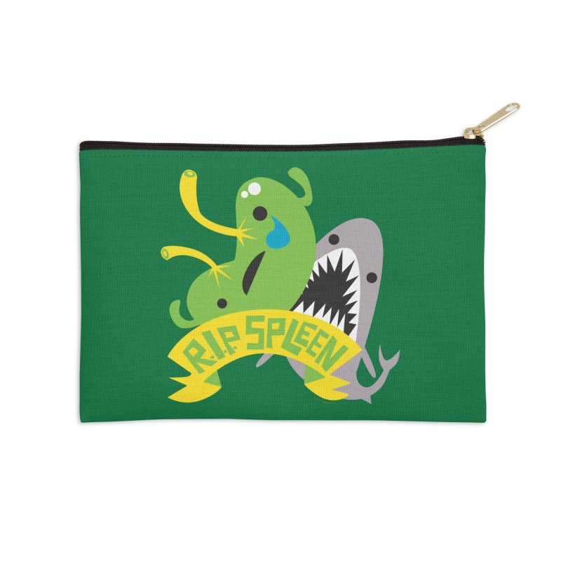 Spleen - Rest in Peace - Splenectomy Accessories Zip Pouch by I Heart Guts