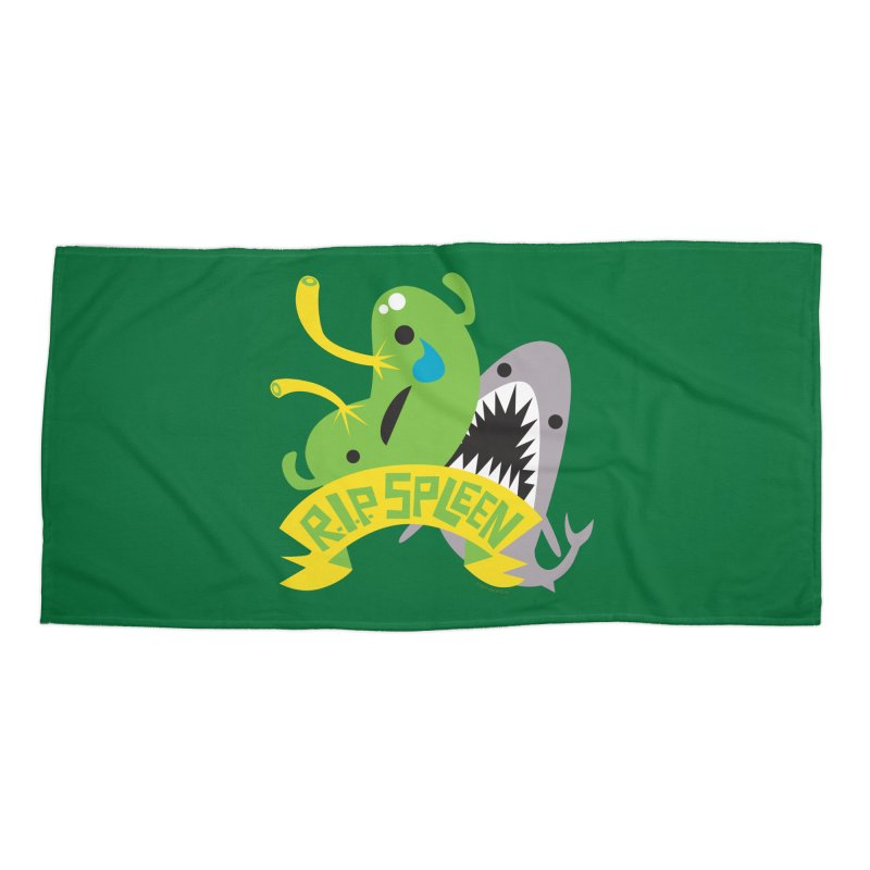 Spleen - Rest in Peace - Splenectomy Accessories Beach Towel by I Heart Guts