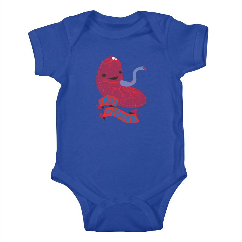 I Miss My Placenta Kids Baby Bodysuit by I Heart Guts