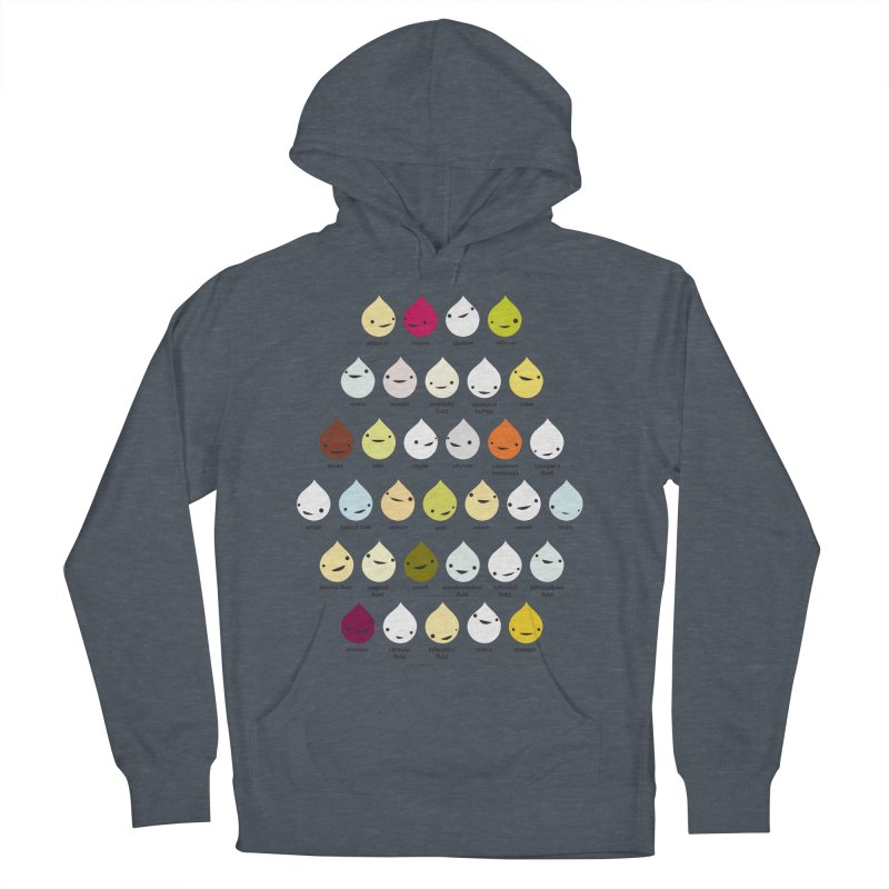 Blood, Sweat, Tears and Chyme Women's French Terry Pullover Hoody by I Heart Guts