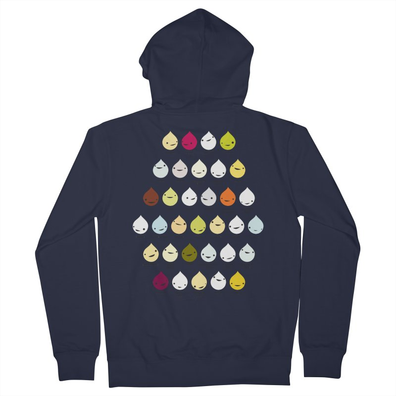Blood, Sweat, Tears and Chyme Women's Zip-Up Hoody by I Heart Guts