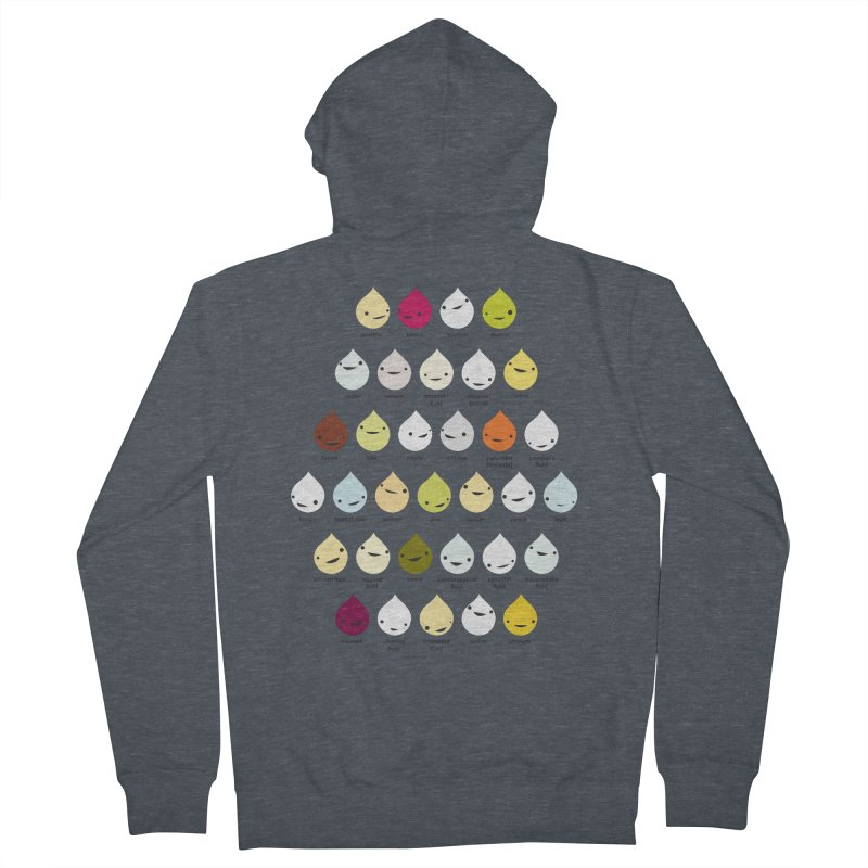 Blood, Sweat, Tears and Chyme Men's Zip-Up Hoody by I Heart Guts