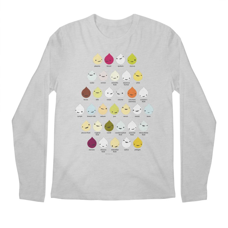 Blood, Sweat, Tears and Chyme Men's Longsleeve T-Shirt by I Heart Guts