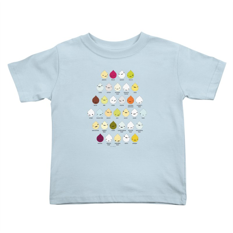 Blood, Sweat, Tears and Chyme Kids Toddler T-Shirt by I Heart Guts