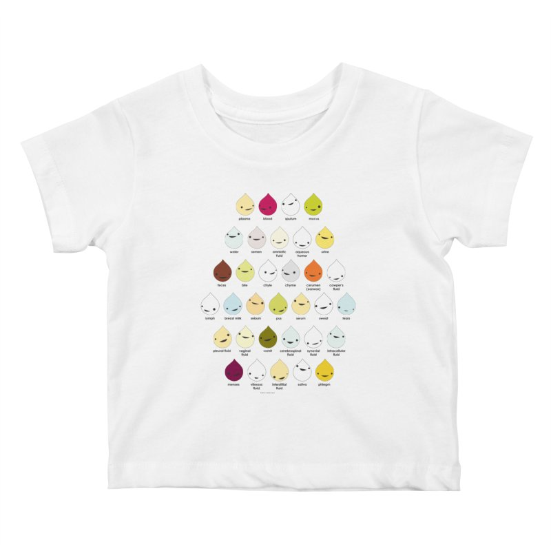 Blood, Sweat, Tears and Chyme Kids Baby T-Shirt by I Heart Guts