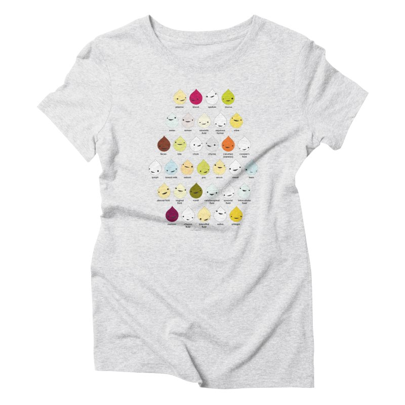 Blood, Sweat, Tears and Chyme Women's T-Shirt by I Heart Guts