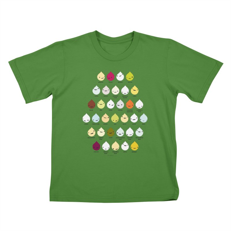 Blood, Sweat, Tears and Chyme Kids T-Shirt by I Heart Guts