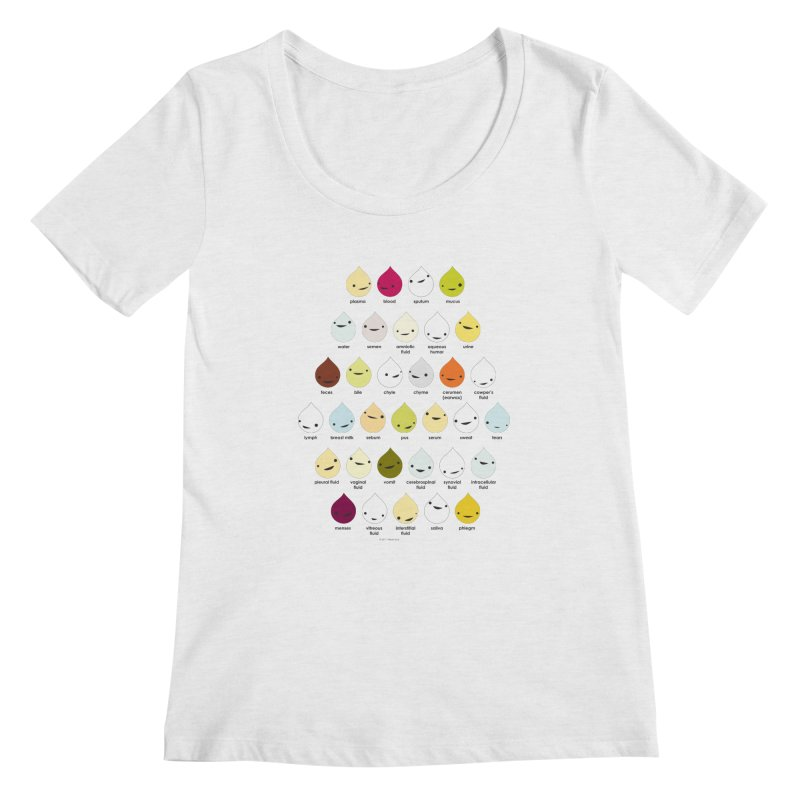 Blood, Sweat, Tears and Chyme Women's Scoopneck by I Heart Guts