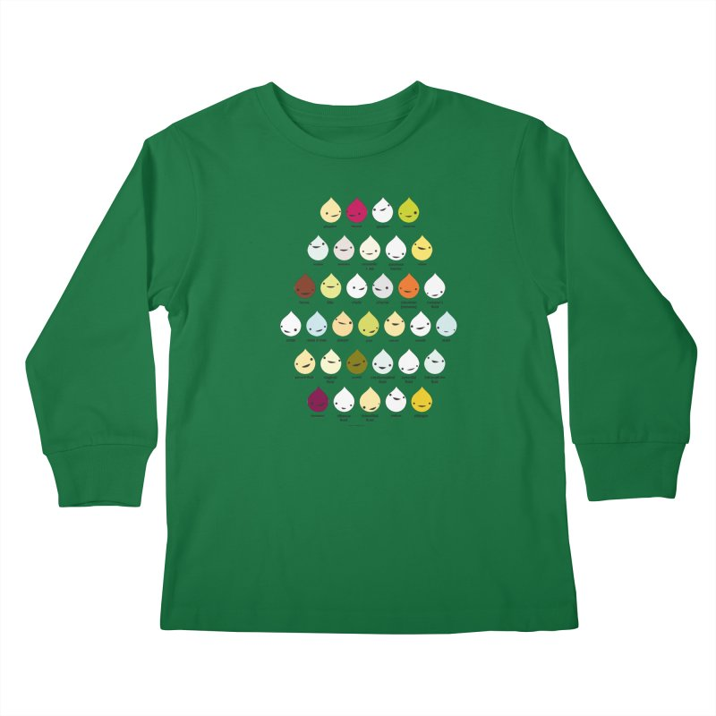 Blood, Sweat, Tears and Chyme Kids Longsleeve T-Shirt by I Heart Guts