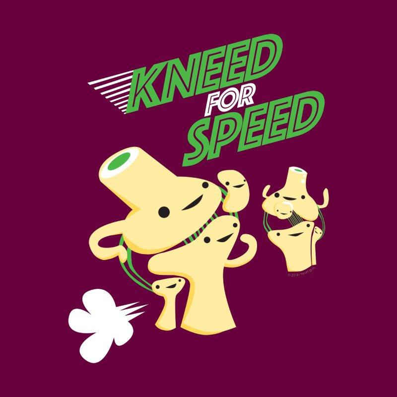 Kneed For Speed Women's T-Shirt by I Heart Guts