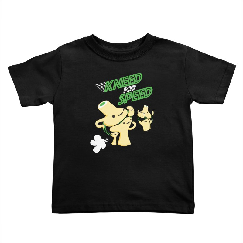 Kneed For Speed Kids Toddler T-Shirt by I Heart Guts