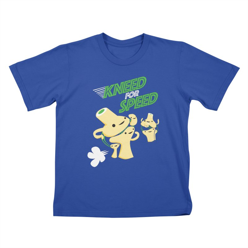 Kneed For Speed Kids T-Shirt by I Heart Guts