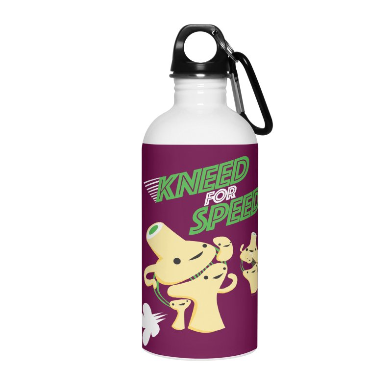 Kneed For Speed Accessories Water Bottle by I Heart Guts