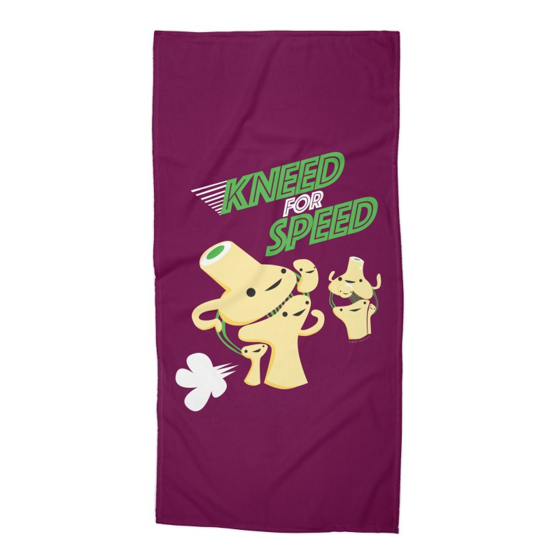 Kneed For Speed Accessories Beach Towel by I Heart Guts