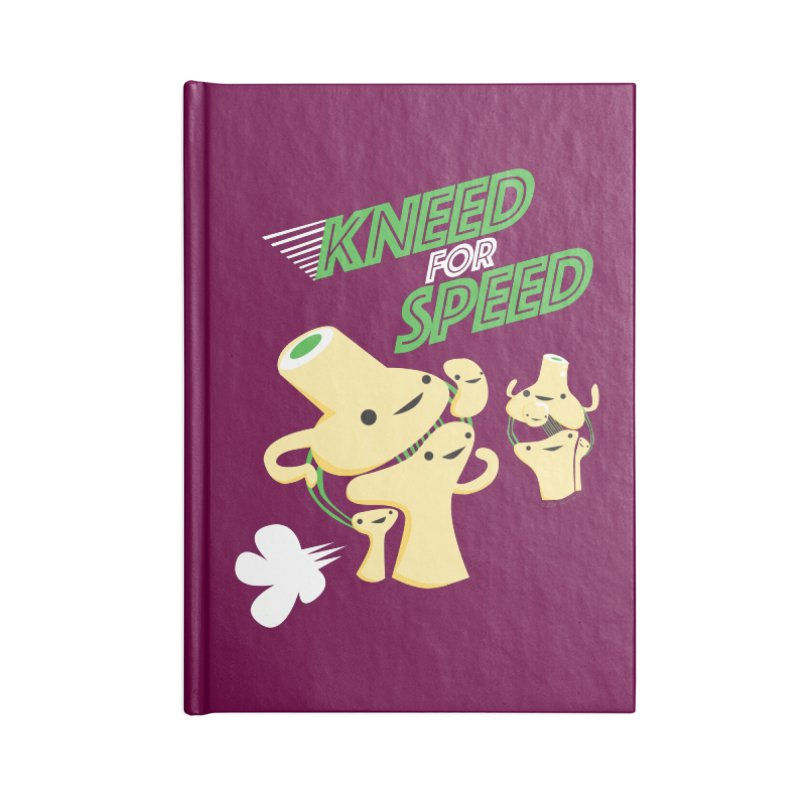 Kneed For Speed Accessories Notebook by I Heart Guts
