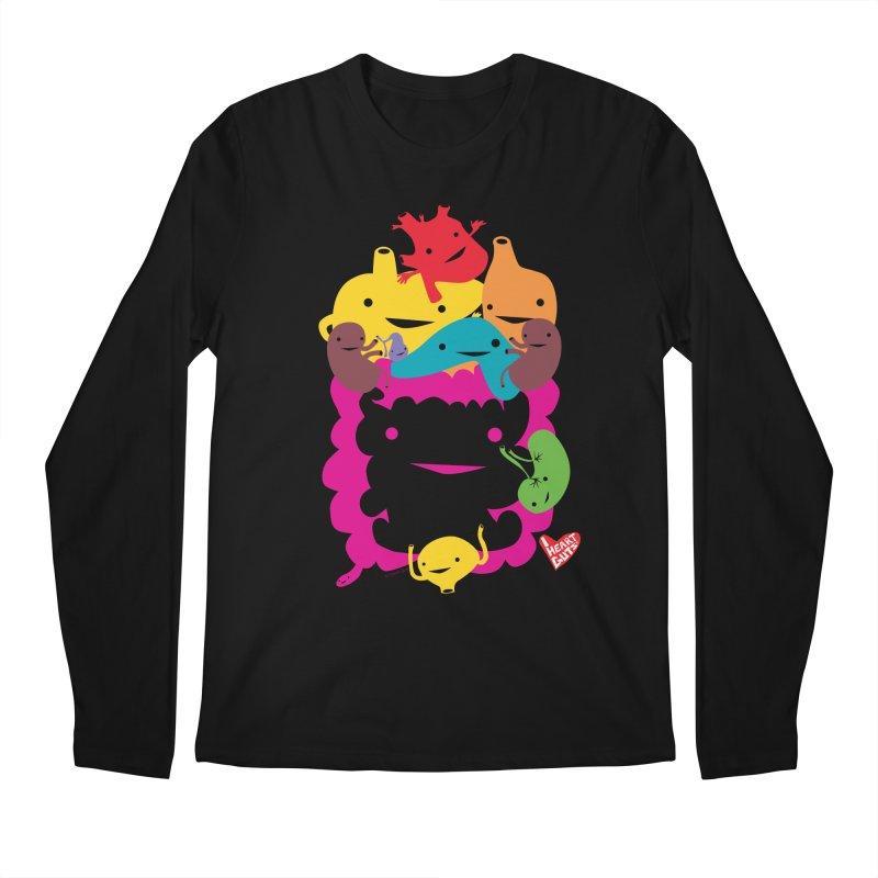 Life Takes Guts Men's Longsleeve T-Shirt by I Heart Guts