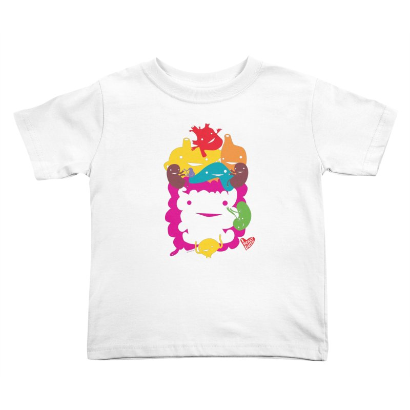 Life Takes Guts Kids Toddler T-Shirt by I Heart Guts