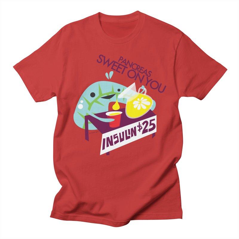 Pancreas - Sweet On You Men's T-Shirt by I Heart Guts