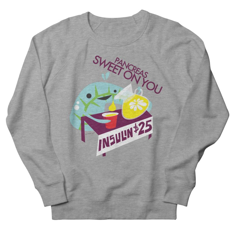 Pancreas - Sweet On You Women's Sweatshirt by I Heart Guts