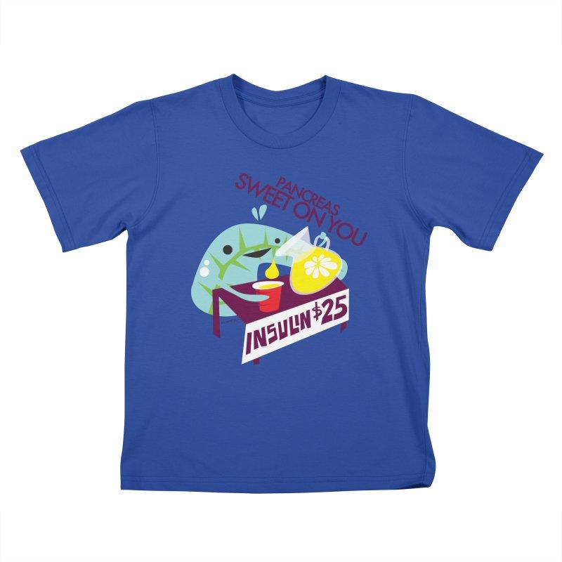 Pancreas - Sweet On You Kids T-shirt by I Heart Guts
