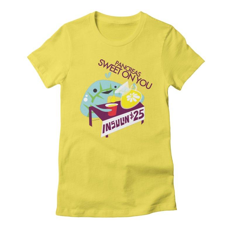 Pancreas - Sweet On You Women's T-Shirt by I Heart Guts