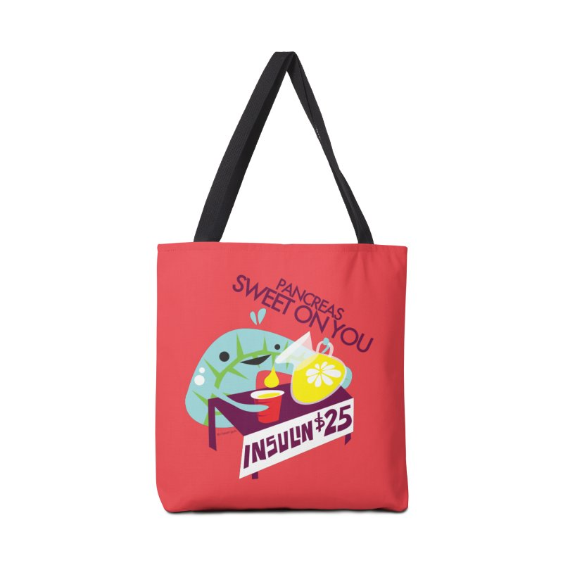 Pancreas - Sweet On You Accessories Bag by I Heart Guts