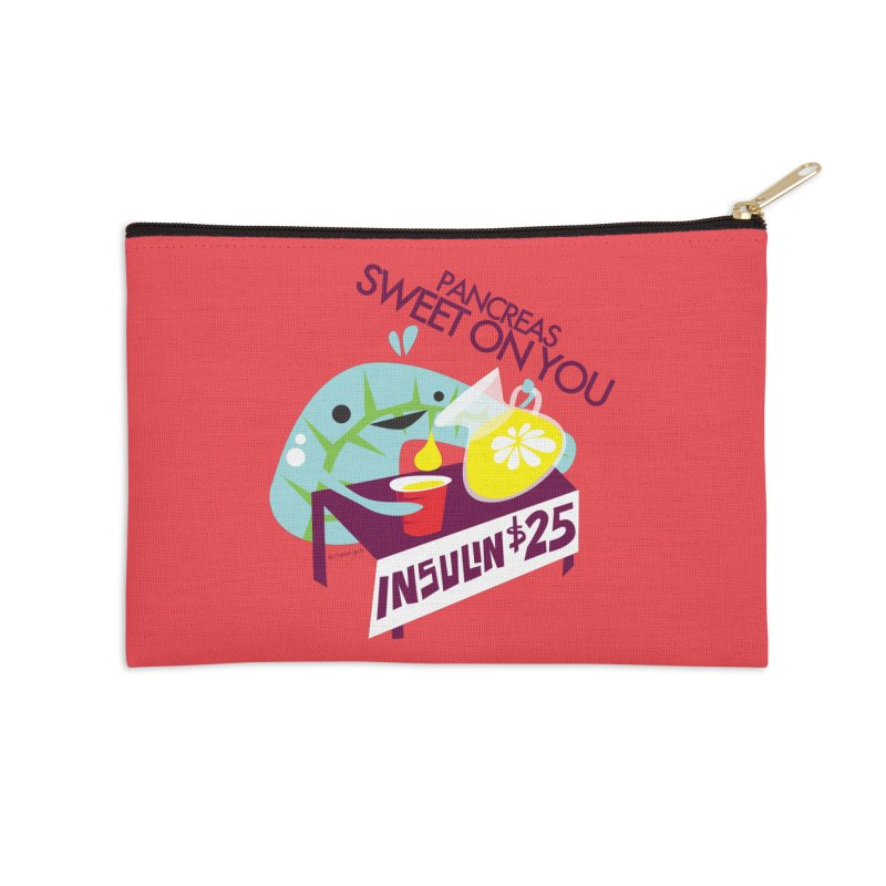 Pancreas - Sweet On You Accessories Zip Pouch by I Heart Guts