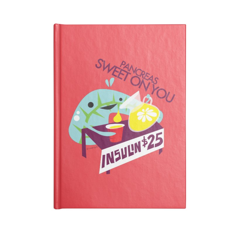 Pancreas - Sweet On You Accessories Notebook by I Heart Guts
