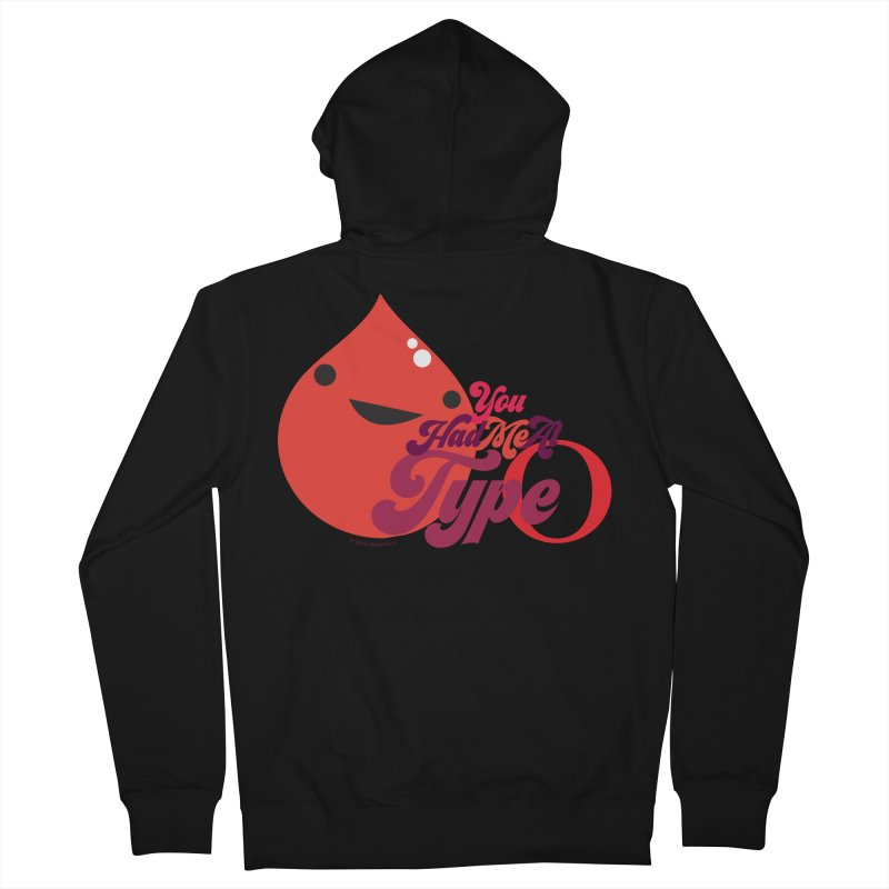 Blood - You Had Me at Type O Women's Zip-Up Hoody by I Heart Guts