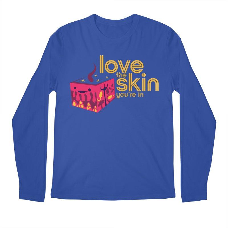 Love the Skin You're In Men's Regular Longsleeve T-Shirt by I Heart Guts
