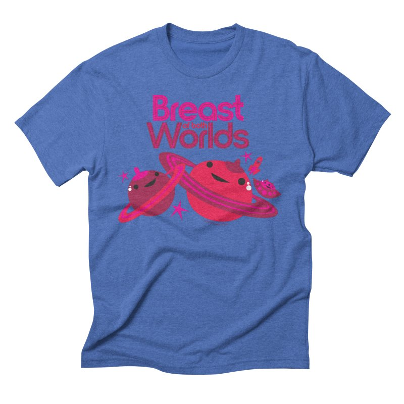 Breast of Both Worlds Men's T-Shirt by I Heart Guts