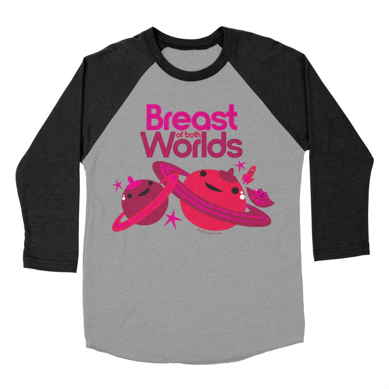 Breast of Both Worlds Men's Baseball Triblend T-Shirt by I Heart Guts