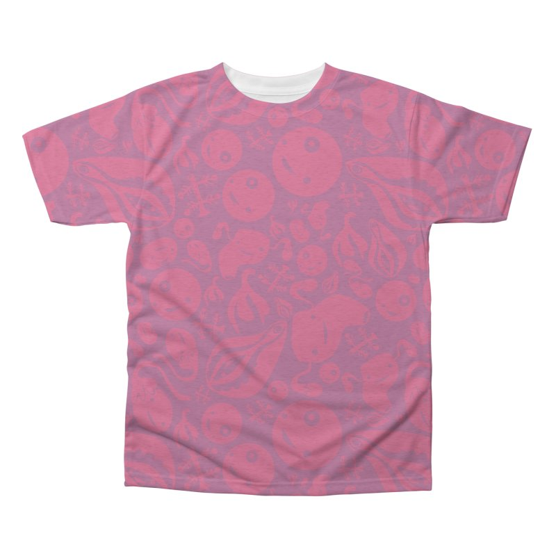 Vadge + Friends Print Men's Triblend All Over Print by I Heart Guts