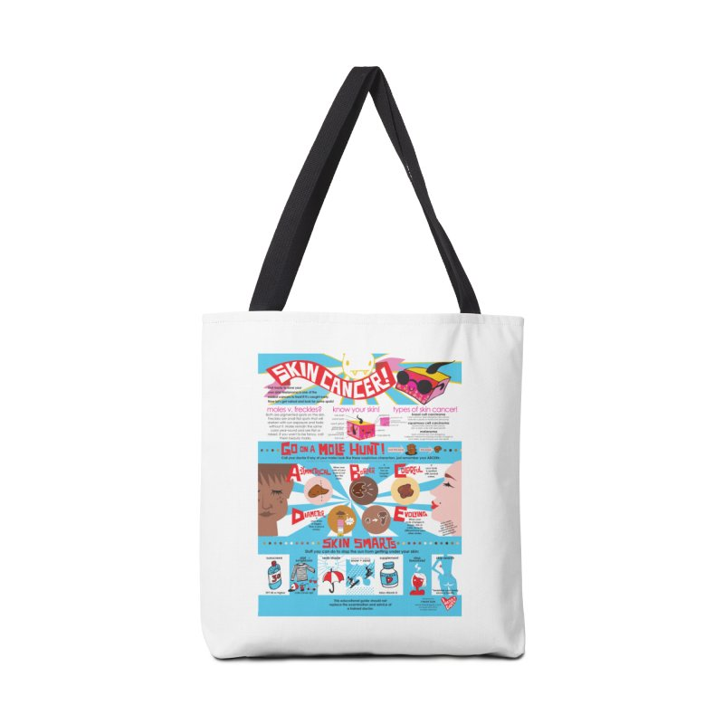 Skin Cancer Self Exam Chart in Tote Bag by I Heart Guts