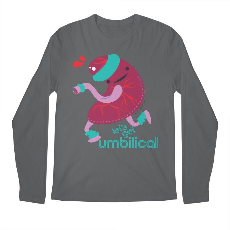 d8d2d5ea Placenta - Let's Get Umbilical Men's Longsleeve T-Shirt by I Heart Guts