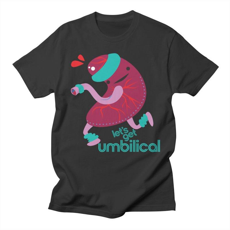 Placenta - Let's Get Umbilical Men's Regular T-Shirt by I Heart Guts