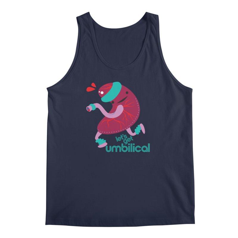 Placenta - Let's Get Umbilical Men's Regular Tank by I Heart Guts